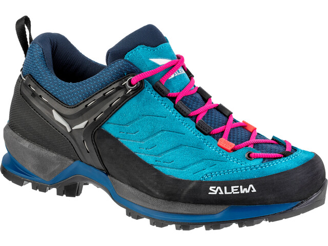 cheap for discount a3908 fa9f1 SALEWA MTN Trainer Shoes Damen blue sapphire/red plum